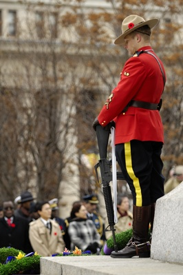 The Royal Canadian Mounted Police representative for Sentry Program in Ottawa