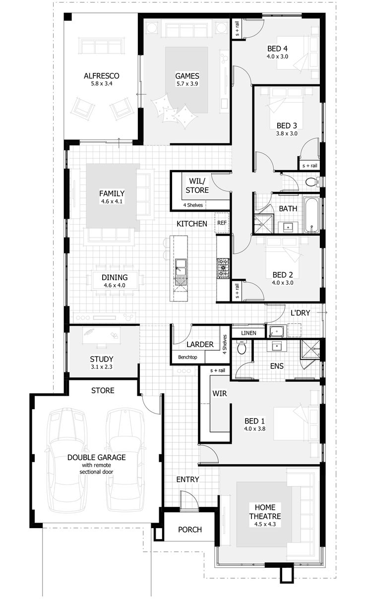 Best Ideas About Single Storey House Plans On Pinterest House - Single family home designs