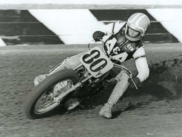 Kenny Roberts as a junior at Ascot.  I was there (he would pass me like I was stopped.....gawd, he was fast).