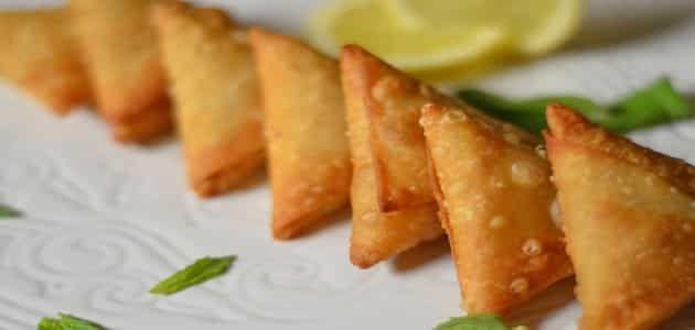 طريقة لف السمبوسة الهندية المقرمشة بالسويتز Samosa Samosa Recipe Recipes