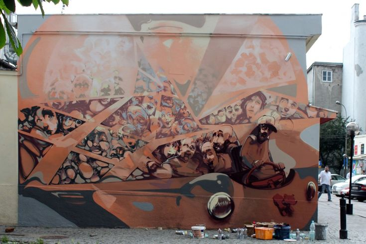 Sztuka uliczna - Robert Proch