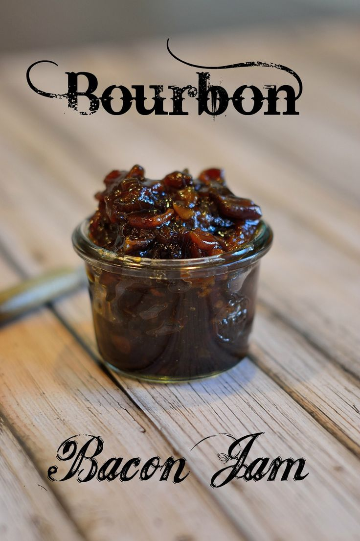 Bourbon Bacon Jam- this is a hit at EVERY event I make it for, everyone begs for the recipe. Spread it on crostinis, sandwiches, deviled eggs and more! | #baconjam | www.savoryexperiments.com