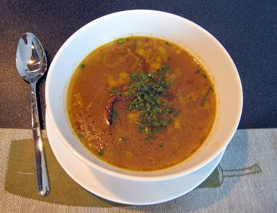 Indicka Rasam Polevka  indian soup a la czech