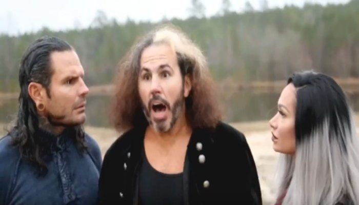 Reby Hardy noted on Twitter that Matt is trying to do things the right way, but she doesn't seem to be interested in playing nice. She went off on TNA.