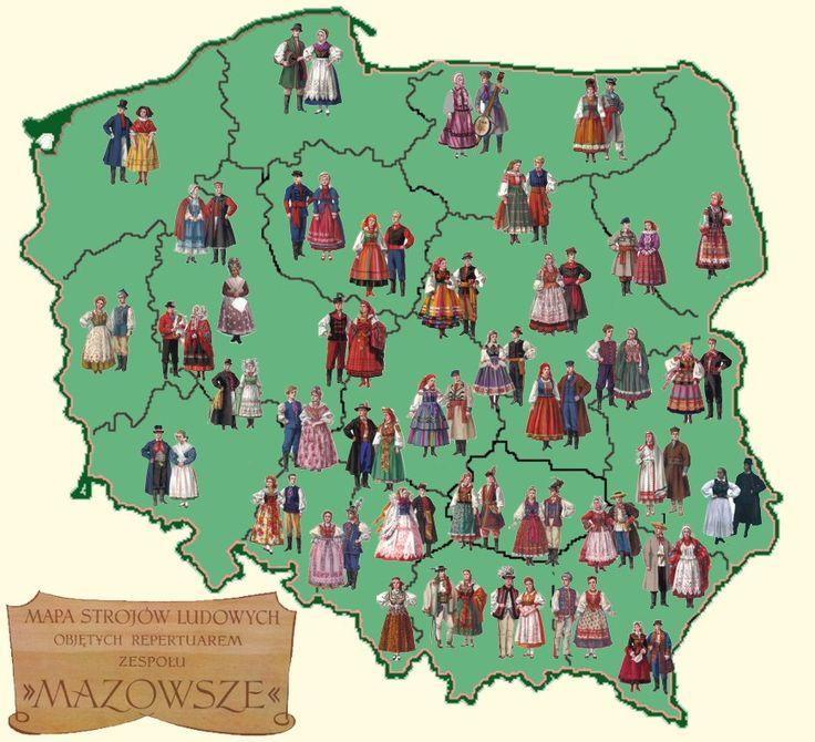 stroje ludowe, Polska