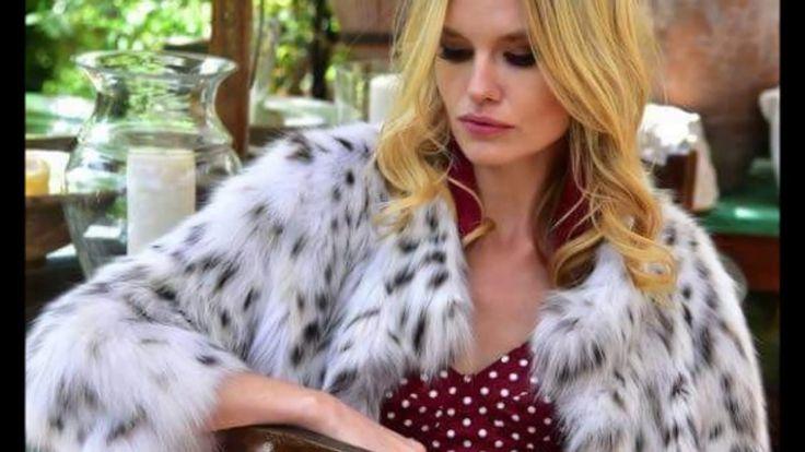 Woman In White Fox Fur Part 29