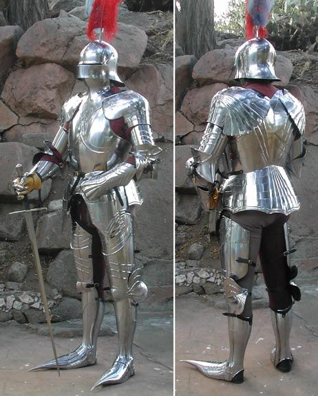 Armour, Full, German, circa 1480 by Jeff Hedgecock
