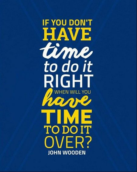 john wooden ucla bruins inspirational time quote poster