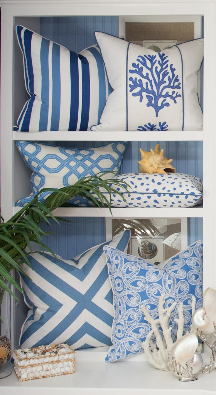 - Sanibel Collection - #BeachPillows #CoastalPillows #LillyPulitzer