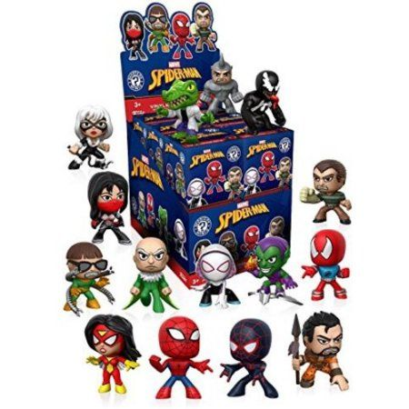 Funko Mystery Mini: Spiderman Classics (One Figure Per Purchase)