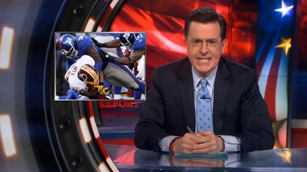 Stephen Colbert Talks Bowling, Danica Patrick and New Orleans Saints Bounty ScandalNew Orleans Saint