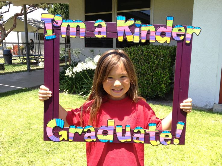 End of the Year Photo Booth -- could do with ANYTHING, just not Kinder graduates