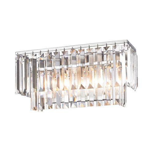 Elk Lighting Palacial Polished Chrome 15 Inch Two Light Vanity On SALE