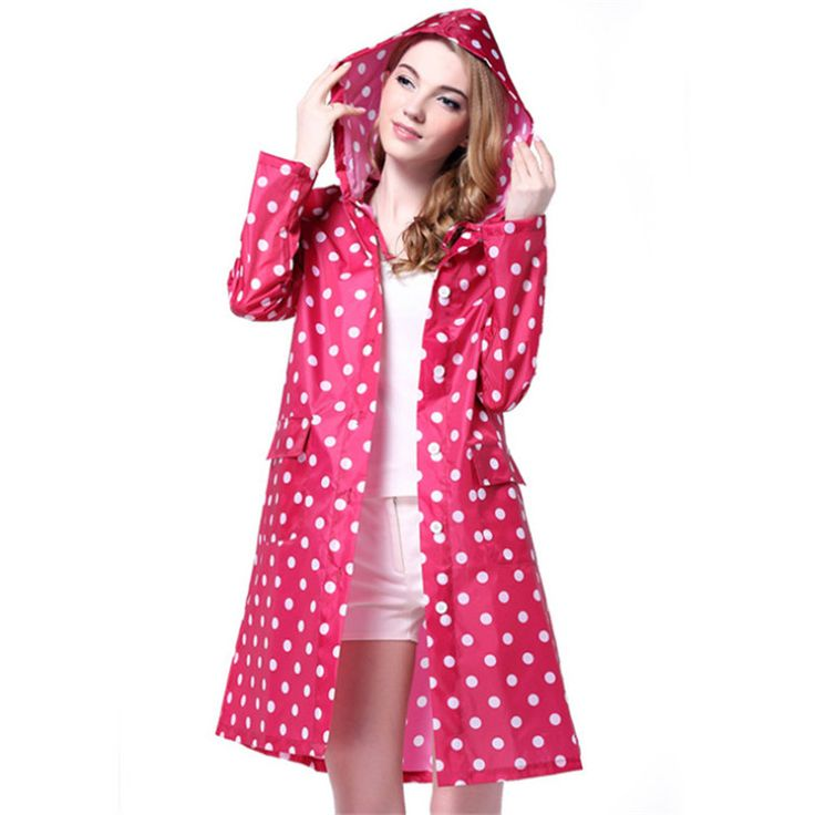 raincoat women Picture - More Detailed Picture about 3Color Dot Raincoats For Women Men Fashion EVA Waterproof Rain Coats Portable Travel/Hiking/Outdoor Work Raincoat Woman Rainwear Picture in Raincoats from Ai Eshop | Aliexpress.com | Alibaba Group