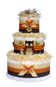 owl diaper cake!!: Owl Baby, Cakes Ideas, Hoot Momma, Baby Gifts, Baby Owl, Owl Diapers Cakes, Parties Ideas, Owl Cakes, Baby Shower