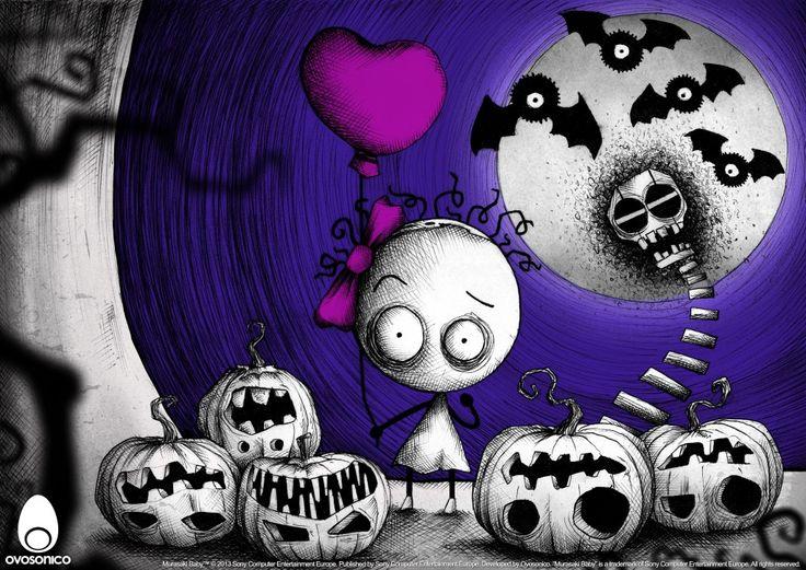 Murasaki Baby - Halloween 2013 Artwork