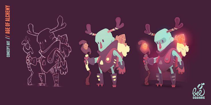 Zinkase - Pablo Hernández: Some character design
