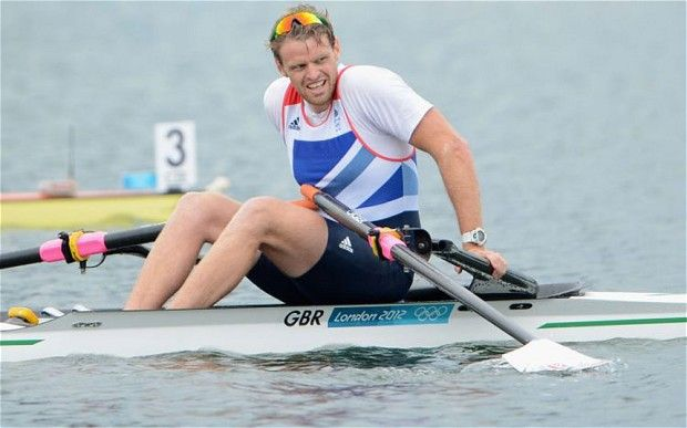 Alan Campbell wins bronze medal for Great Britain in the rowing men's single sculls at London 2012 Olympics - Telegraph
