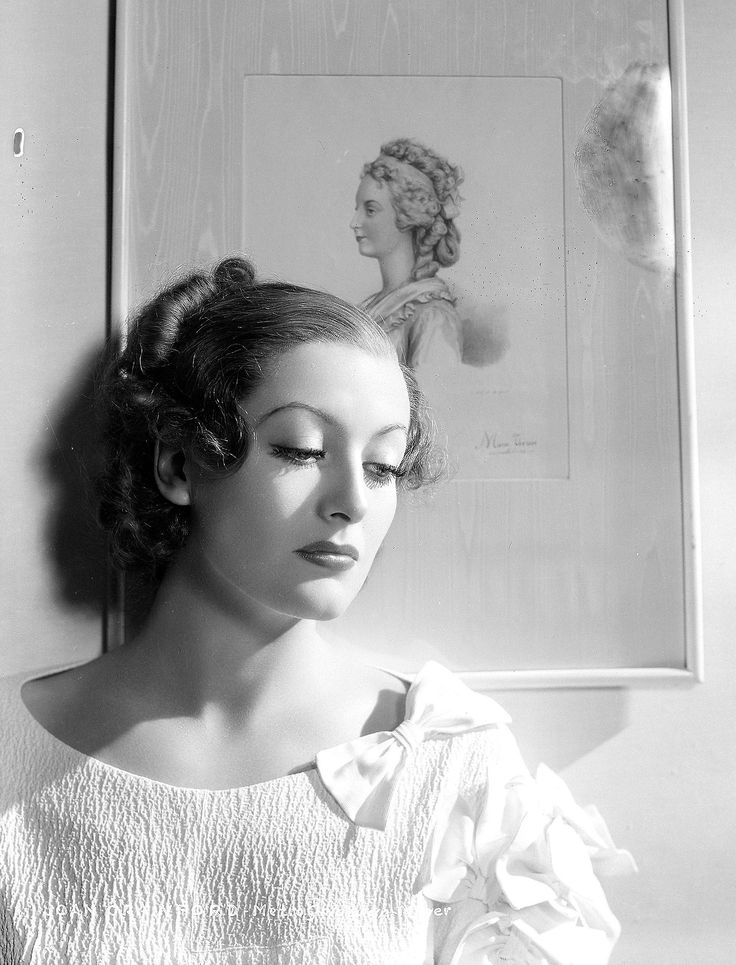 Joan Crawford~ Rumors that Joan prostituted herself during her early days of acting continued throughout her career. She was a known party girl and wasn't shy about admitting to her many affairs with both men and women, her most famous perhaps being Clark Gable. Her longtime rival Bette Davis claimed Joan 'slept with every male star at MGM except Lassie.