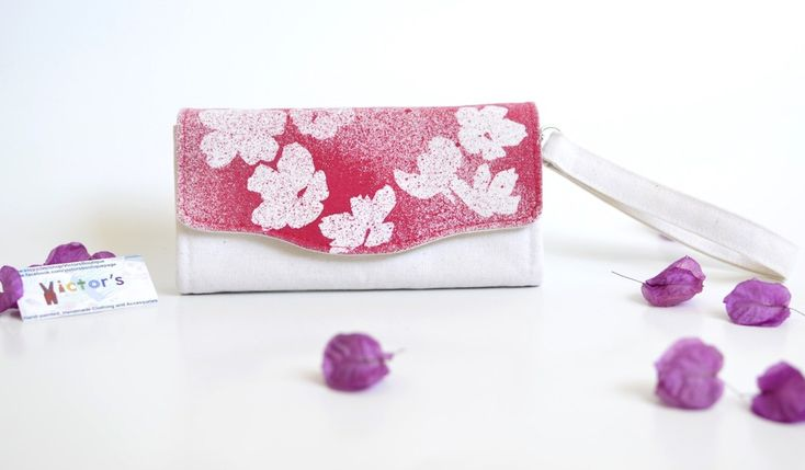 Splashed Cherry Blossoms Wallet