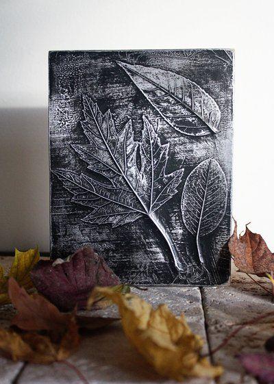 Maak+dit+prachtige+kunstwerk+van+gevallen+bladeren…+een+cadeautje+van+de+natuur!