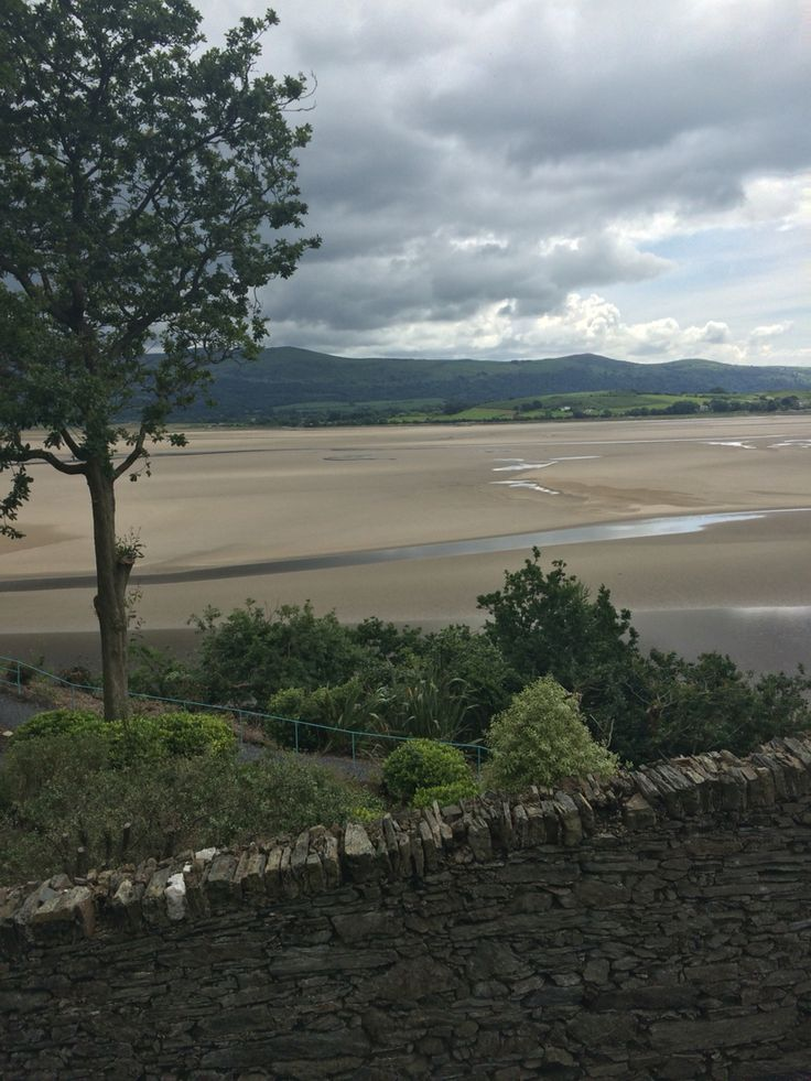 Beach at Portmeirion