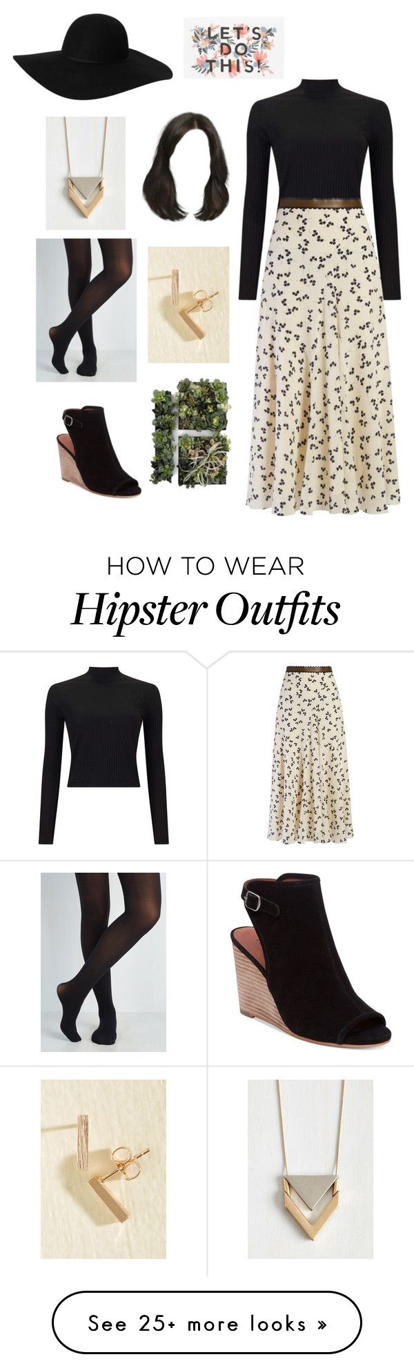 """Hipster Chic"" by peculiarleah on Polyvore featuring Miss Selfridge, Roksanda, Monki, Lucky Brand, blackandwhite, Modest, Modesty, jewish and Tznius"