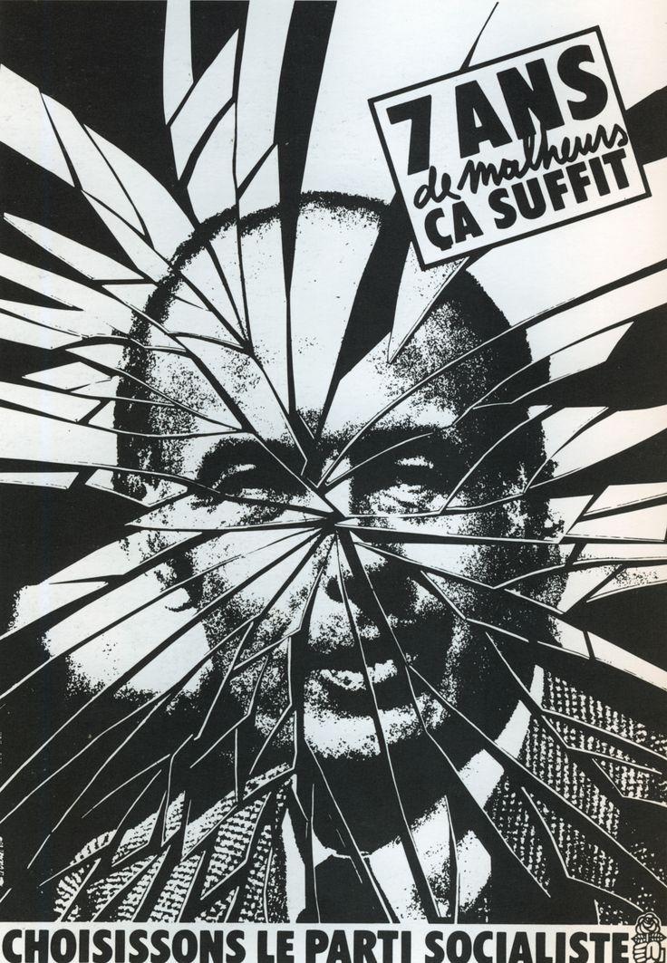 Affiche Alain Le Quernec - Valéry Giscard d'Estaing, campagne présidentielle 1981