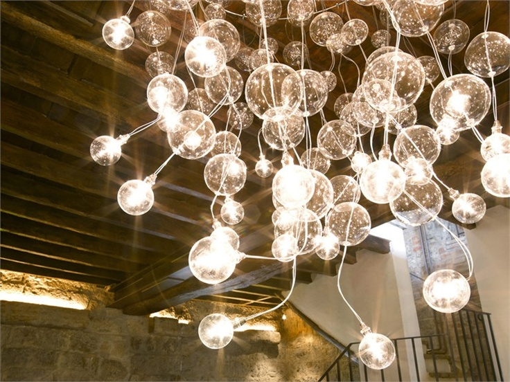 Cristal by metal spot design orazio spada chromium plated metal structure supporting bars