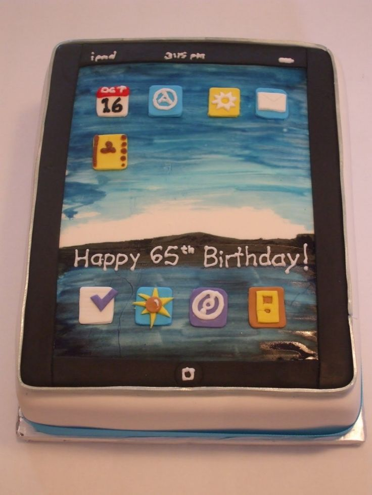 Best 25 Ipad Cake Ideas On Pinterest Iphone Cake