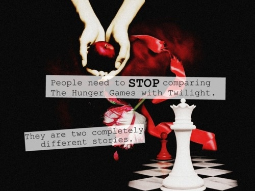 the hunger games isnt twilight Read hunger games positive from the story divergent vs hunger games vs harry potter vs twilight by oliviaaread (olivia a) with 474 reads potter, hunger, twili.