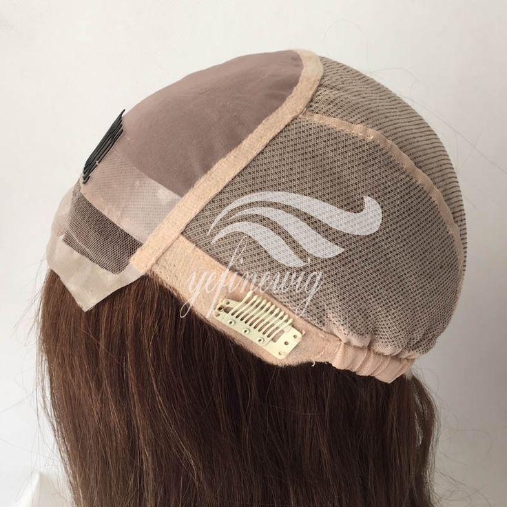 AdjustableJewish Wig Caps, Silk Wig Cap for making wigs,Silicone Wig cap