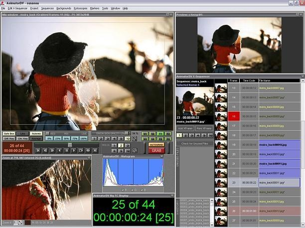 canon movie edit task software