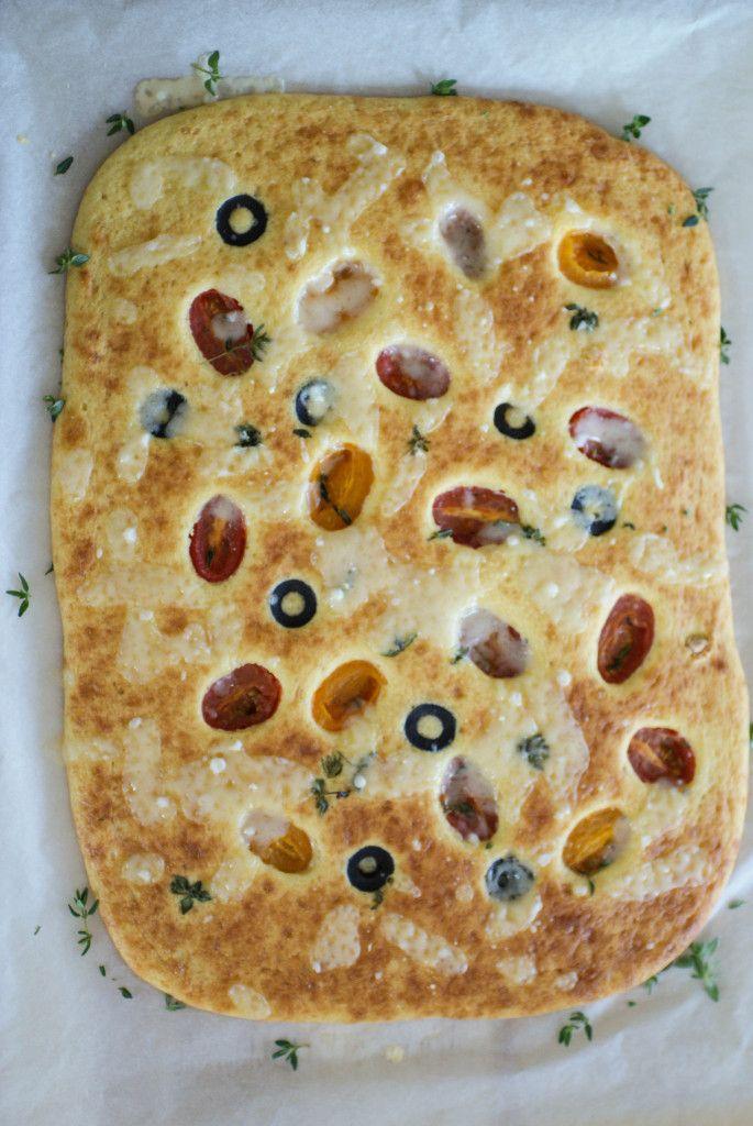 Paleo Focaccia Bread #paleo #diet #recipes paleoaholic.com