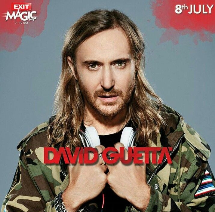 David Guetta will be playing #Exit Festival 2016