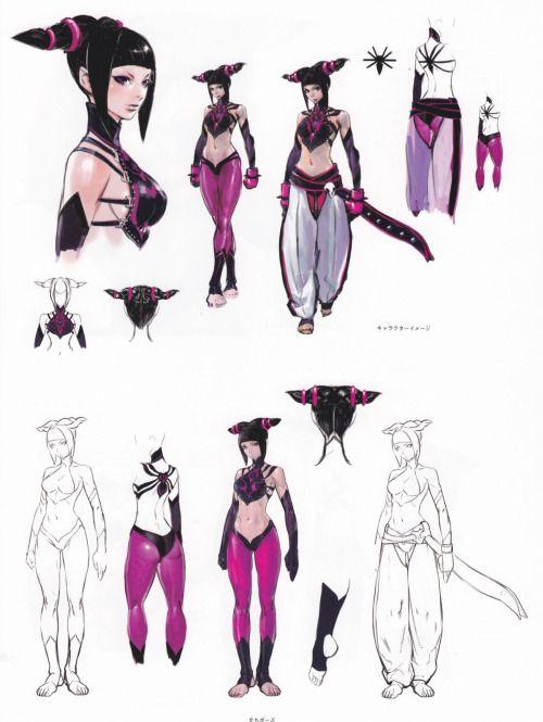 Stupid Dope Mix — Juri Han Concept Artwork Super Street Fighter IV