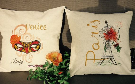 Decorative  pillow  case/cover by artcroshe on Etsy