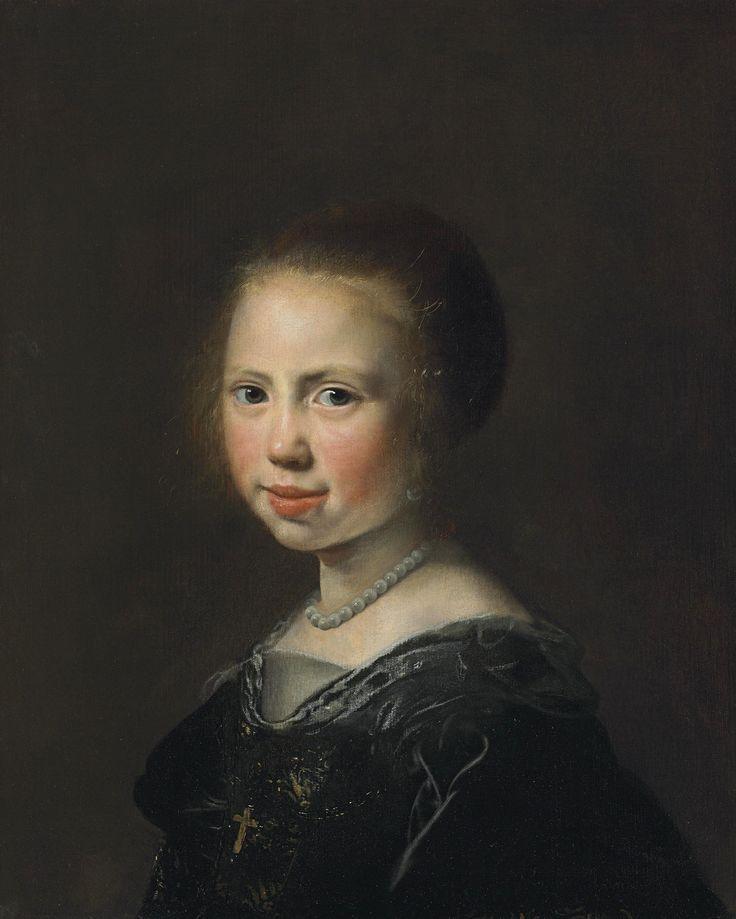 Jan de Bray, Брэй Ян Саломон де (ок.1627-1697). Голландия Портрет девушки