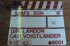 SAM'S SON TV/MOVIE VINTAGE CLAPPERBOARD SLATE BOARD CLAPPER PROP MICHAEL LANDON