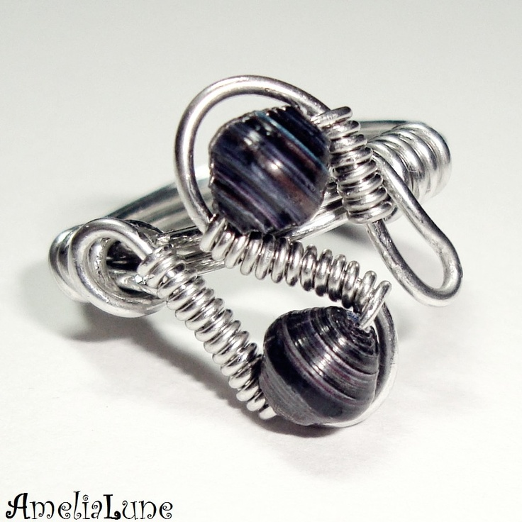 547 best Wire rings images on Pinterest | Wire wrapped rings ...