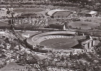 Melbourne Cricket Ground. Melbourne, Australia, 1956.