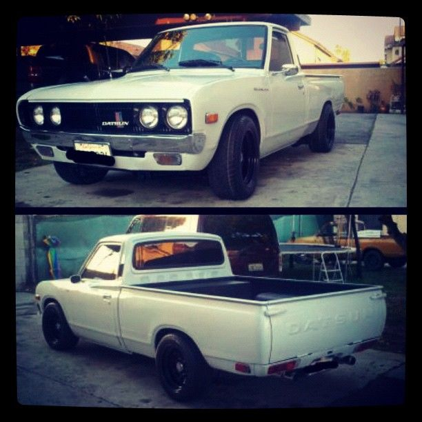 Dat Is Clean 73 Datsun 620 Future Projects Jdm Cars Cars