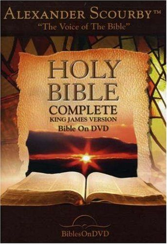 Holy Bible: Complete King James Version Bible on DVD narrated by Alexander Scourby $20.99