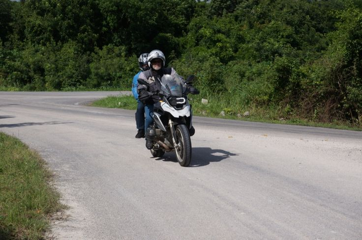 "Richard and Kim emerge from the jungle: See all the stories about that motorcycling nirvana called Mexico on our Ferris Wheels Motorcycle Safaris Tacos 'n' Tequila tour. Just go to motorbike writer.com and search for ""Mexico""."