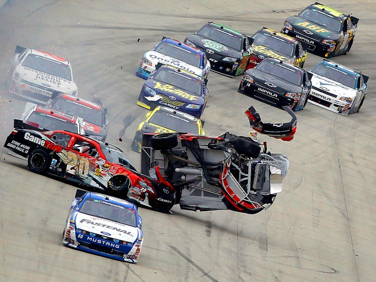 Dover international raceway joey logano's accident - How did he walk away from this?