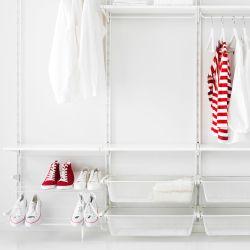 ベッドルーム収納 - ワードローブ & カスタマイズワードローブ - IKEA ALGOT/ ...