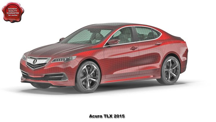 3d model of Acura TLX 2015 by 3d_molier International