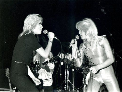 Cherie and her twin sister Marie Currie