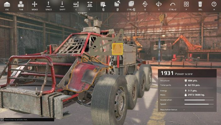Crossout is a Free 2 play Vehicular Action Shooter Multiplayer Game set in a post-apocalyptic World