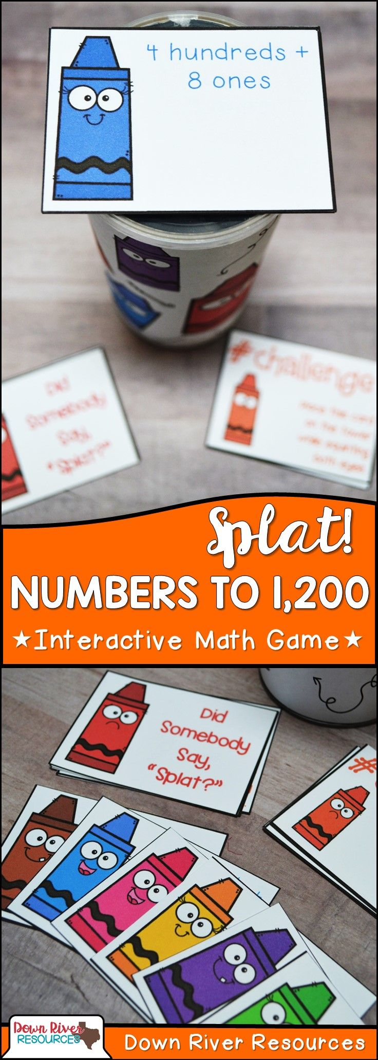 Compose and Decompose Numbers up to 1,200 | Sum of Thousands, Hundreds, Tens, and Ones | Standard and Expanded Form to Represent Numbers up to 1,200 | Second Grade Math TEKS | Second Grade Math Centers | Second Grade Math Stations | Second Grade Math Games